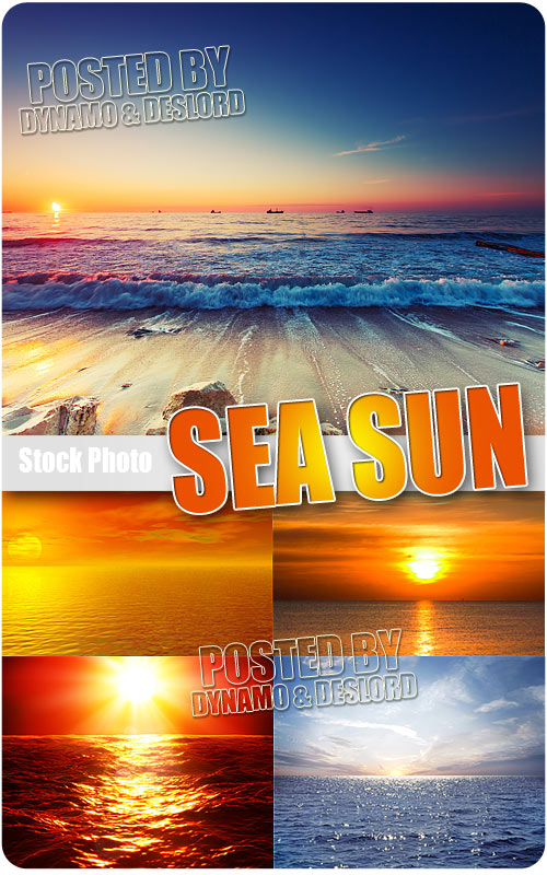 Sea sun - UHQ Stock Photo