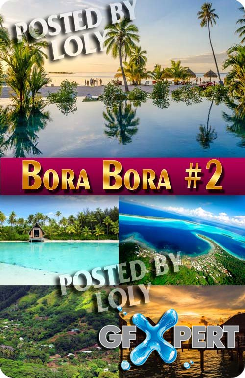 Bora Bora #2 - Stock Photo
