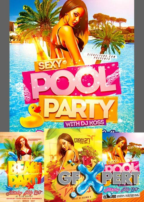 Summer Flyer Templates part 5