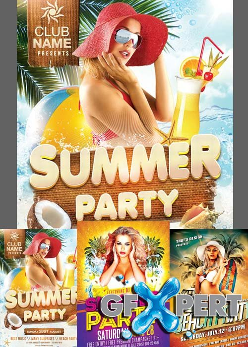 Summer Flyer Templates part 4