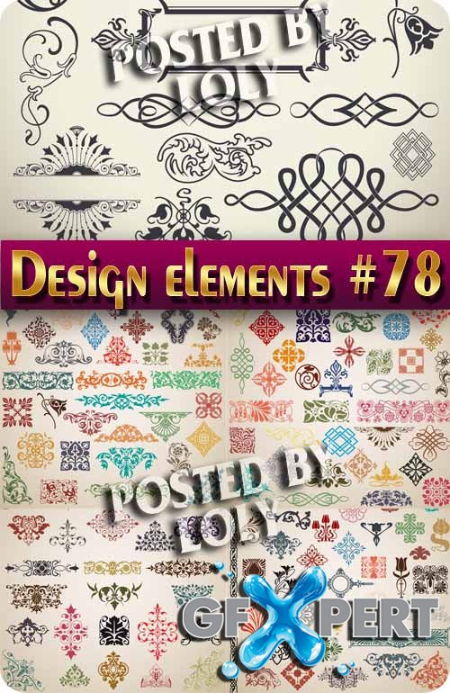 Design element #78 - Stock Vector