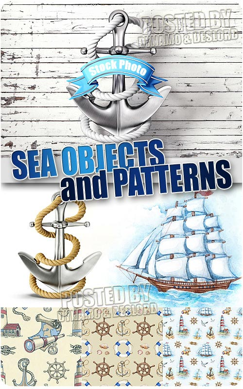 Sea objects & patterns - UHQ Stock Photo