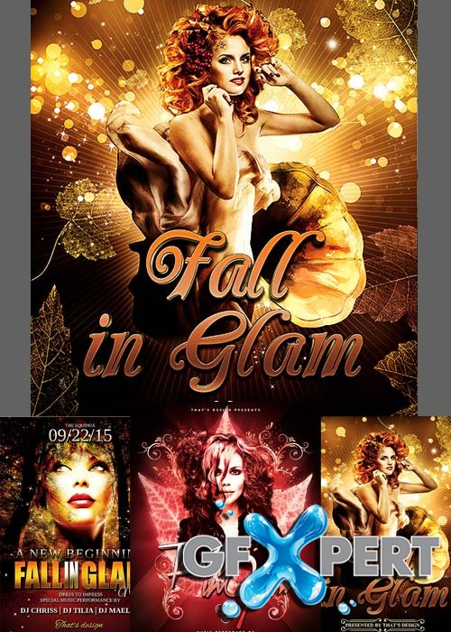 Fall in Glam Flyer Bundle