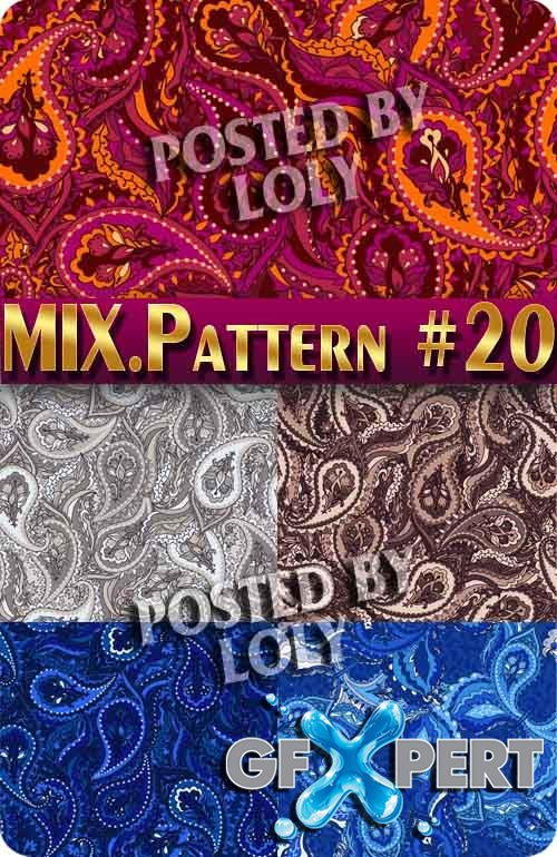 Mix Patterns #20 - Stock Vector