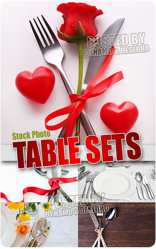 Table sets - UHQ Stock Photo