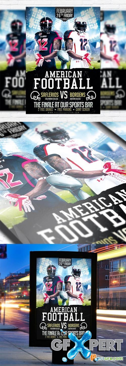 Flyer Template - American Football