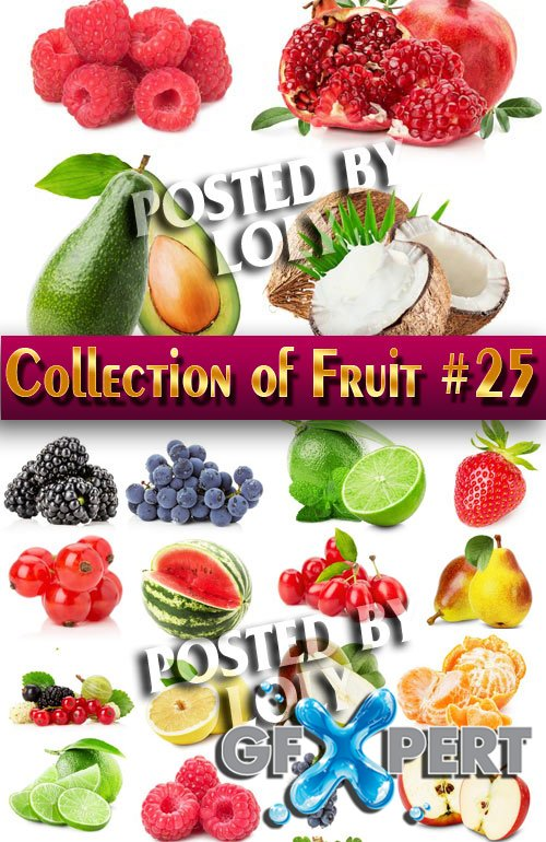 Food. Mega Collection. Fruit #25 - Stock Photo