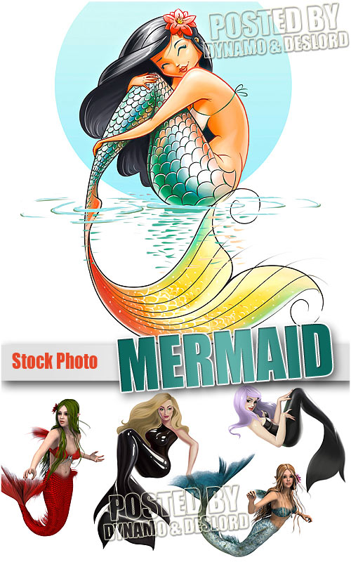 Mermaid - UHQ Stock Photo