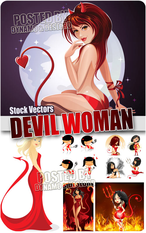 Devil Woman 2 - Stock Vectors