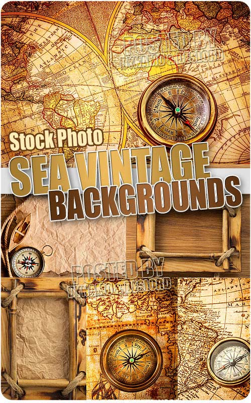 Sea vintage backgrounds - UHQ Stock Photo