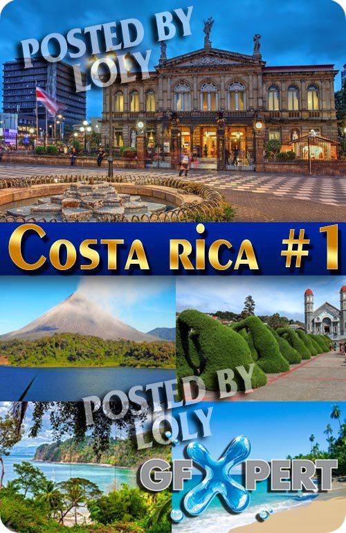 Costa rica #1 - Stock Photo
