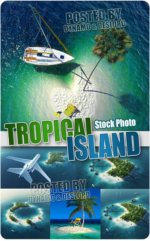 Tropical island - UHQ Stock Photo