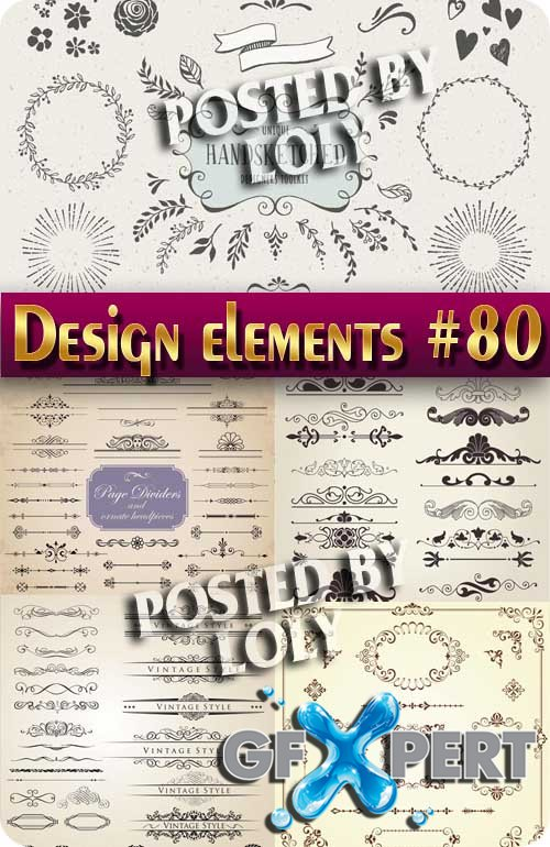 Design element #80 - Stock Vector