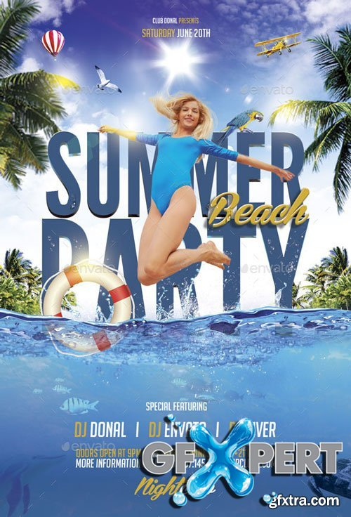 GraphicRiver - Summer Beach Party - 10829793