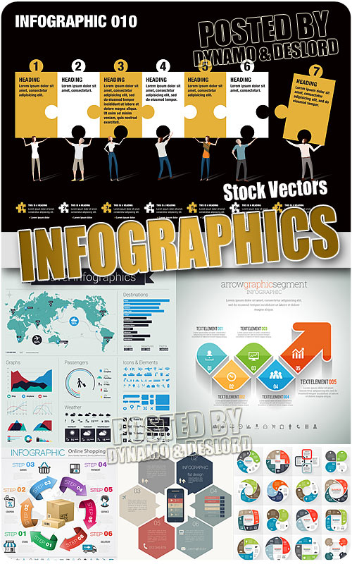 Infographics 2 - Stock Vectors