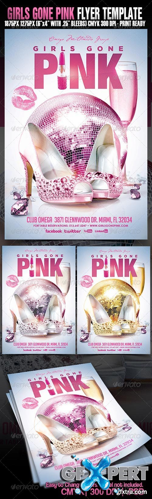 GraphicRiver - Girls Gone Pink