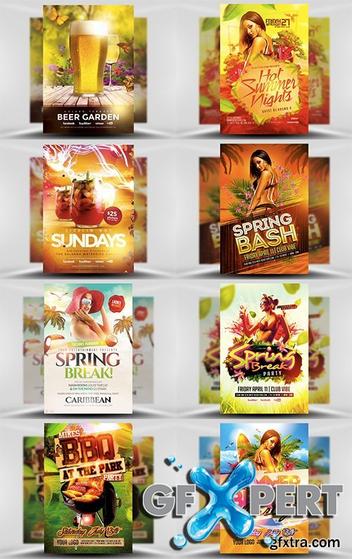 65 Premium PSD Flyer Templates & Huge Bonus