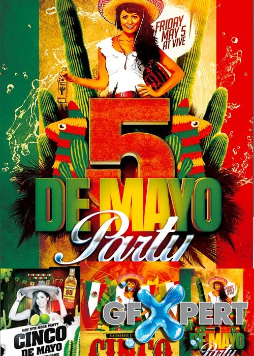 Mexican Party Flyer part 2