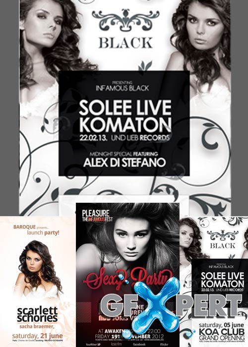 Party Flyer Bundle par 13