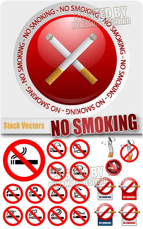 No smoking - Stock Vectors
