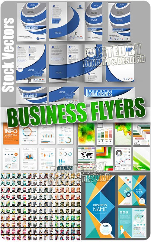 Business flyers - Stock Vectors