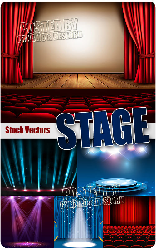 Stage - Stock Vectors