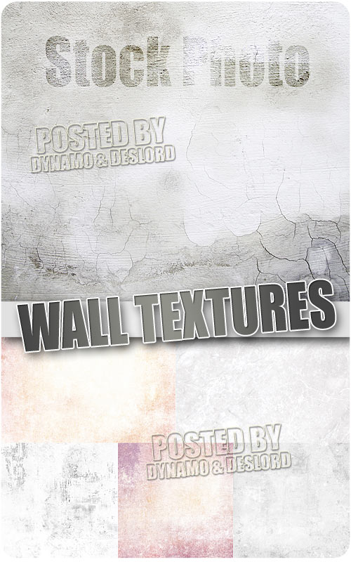 Wall textures - UHQ Stock Photo