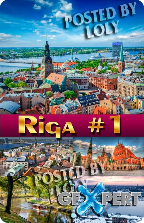 Riga #1 - Stock Photo