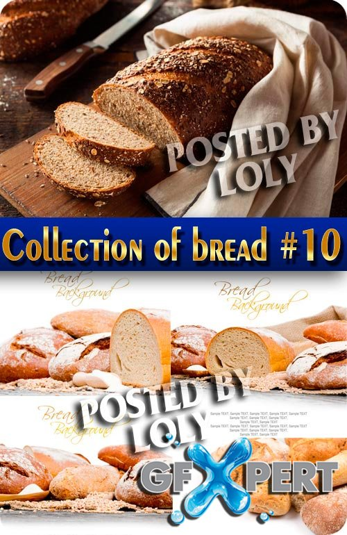Food. Mega Collection. Bread and wheat #10 - Stock Photo