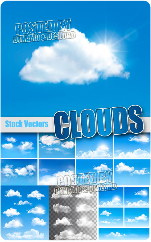 Clouds - Stock Vectors