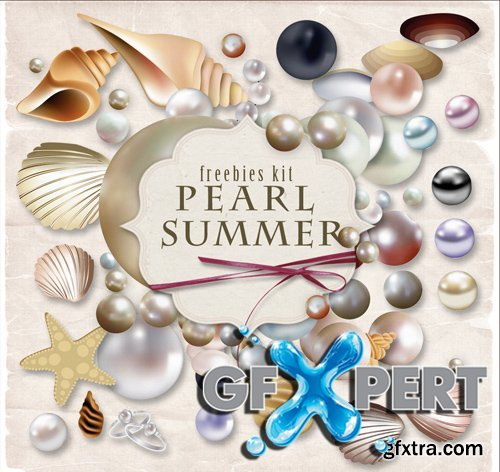 Scrap Kit - Pearl Summer