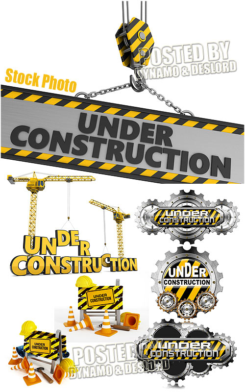 Under construction - UHQ Stock Photo