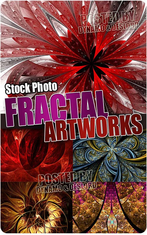 Fractal artworks - UHQ Stock Photo