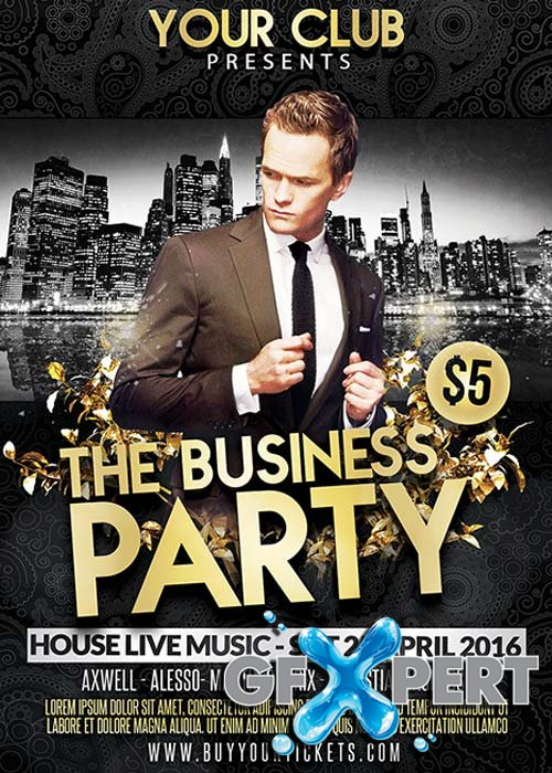Business Party Flyer Template
