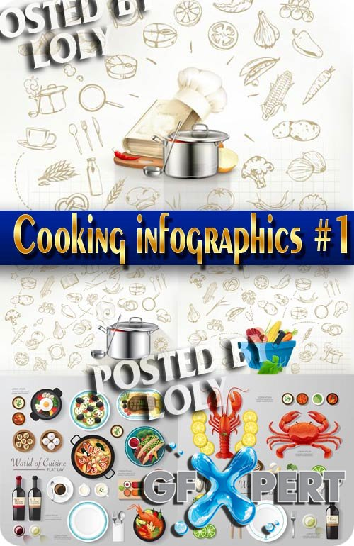 Cooking. Infographics #1 - Stock Vector