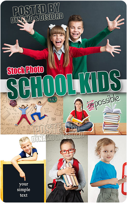 School kids - UHQ Stock Photo
