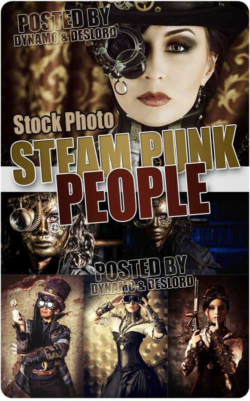 Steampunk people - UHQ Stock Photo