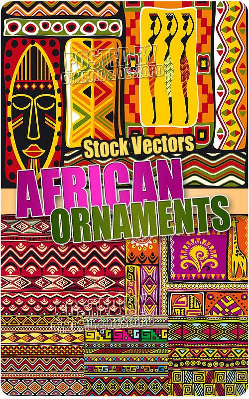 African ornaments - Stock Vectors