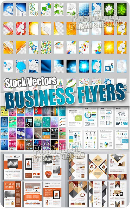 Business flyer 2 - Stock Vectors