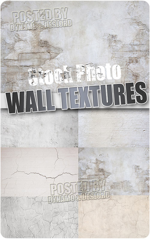 Wall textures 2 - UHQ Stock Photo
