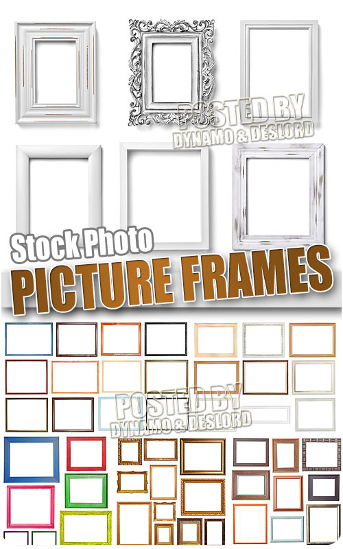 Picture frames - UHQ Stock Photo