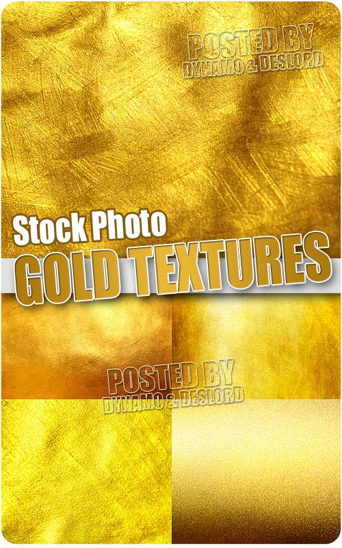 Gold textures - UHQ Stock Photo