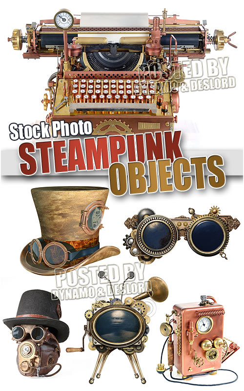 Steam punk objects - UHQ Stock Photo