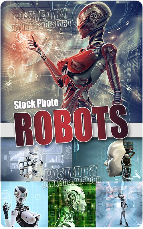 Robots - UHQ Stock Photo