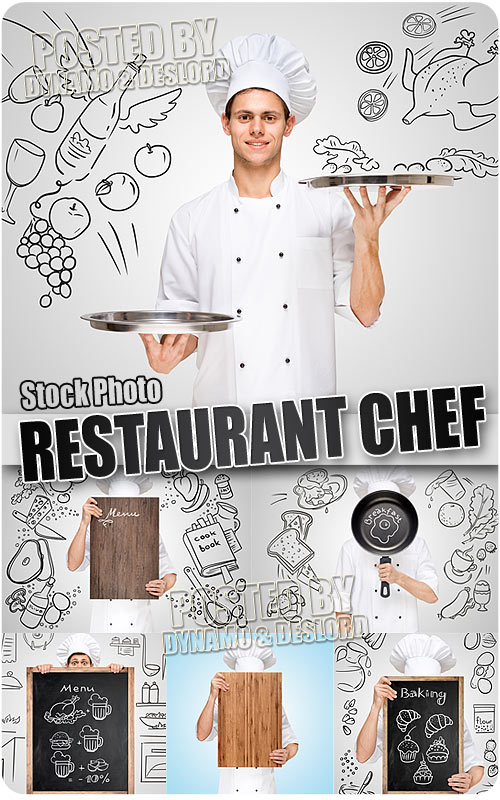 Restaurant chef - UHQ Stock Photo