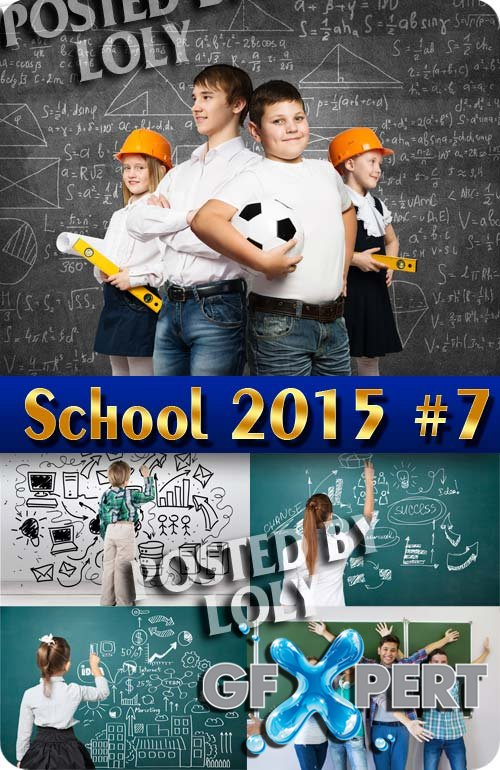 Back to School 2015 #7 - Stock Photo