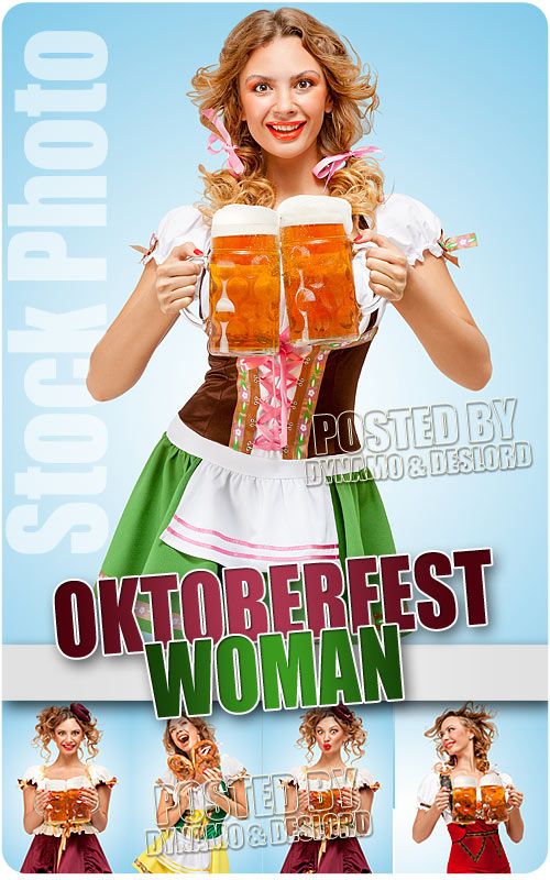 Oktoberfest woman - UHQ Stock Photo