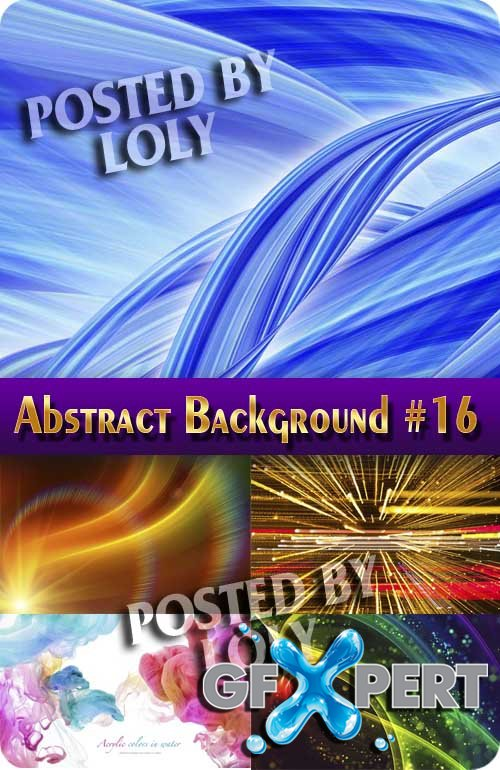 Abstract Backgrounds #16 - Stock Photo