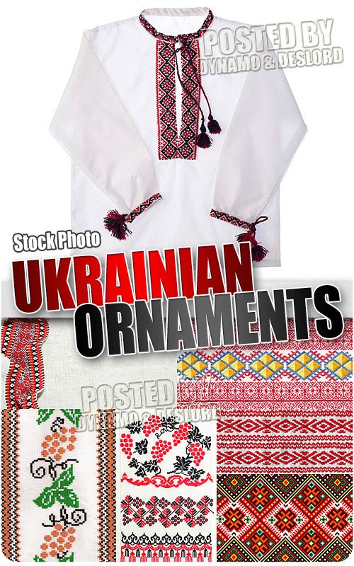 Ukrainian ornaments - UHQ Stock Photo