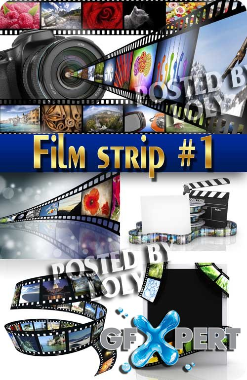 Filmstrip # 1 - Stock Photo